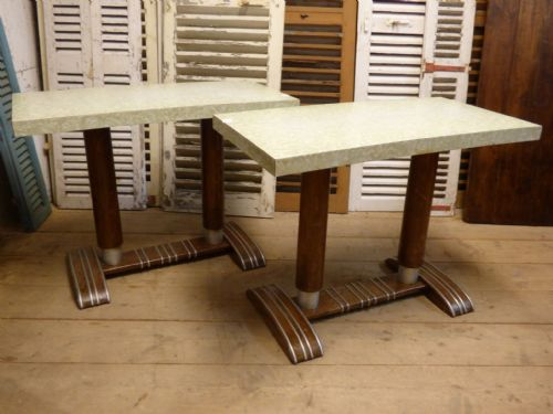 Original French Bistro / Cafe Tables - £175 each -
